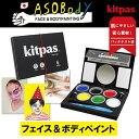 Kitpas ASOBody キットパスあそボディ 6色パレット 日本理化学工業 65-ASO-1 【ネコポス可】