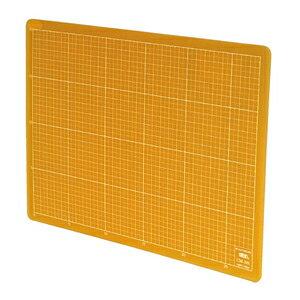 スケルトンカッティングマット A4(30×22cm)スケルトンオレンジ NTカッター CM-30I-O カッターマット