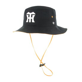 ebb76687771 47Brandキャップ Tigers  47 Kirby BUCKET Black NPB-KIRBY04GWF-BK