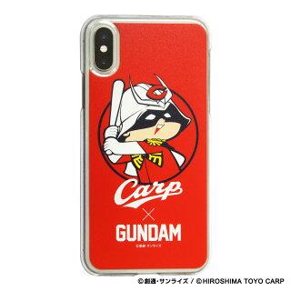 ガンダム×広島東洋カープ iPhoneクリアケース シャア坊や