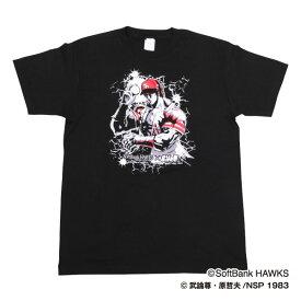 ソフトバンクホークスグッズ ホークス×北斗の拳コラボ Tシャツ