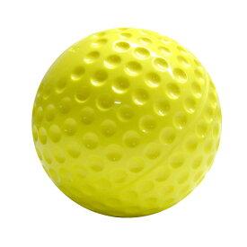 ソフトボール ナイガイウレタンソフトボール12インチ イエロー12球 マシンに最適 耐久性抜群