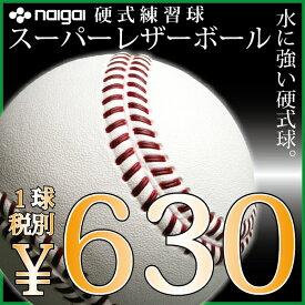 日本上陸、新タイプの硬式練習球 スーパーレザーボールbyナイガイ