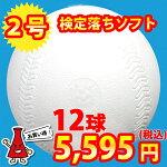検定落ちソフトボール2号球ナイガイソフトボール1ダース(12球)<野球用品/ソフトボール>【RCP】<野球用品/グッズ>【05P10Dec62】