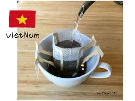 【ドリップパックコーヒー】【メール便送料無料】ベトナム FINE ROBUSTA(ファインロブスタ)Robusta - Peaberry <内容量>12g×12袋 個包装  Future coffee farm × 8coffee