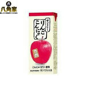 サントリー りんご こんにゃく250ml×24本【キャッシュレス5%還元】