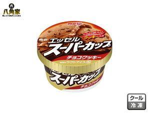 明治 エッセル スーパーカップ チョコクッキー 200ml×24個 買い置き バレンタインデー チョイ足し ラクトアイス 要冷凍 木製さじ付