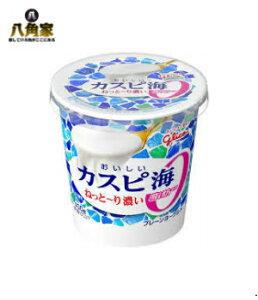 グリコ おいしいカスピ海 脂肪ゼロ400g×6個【キャッシュレス5%還元】
