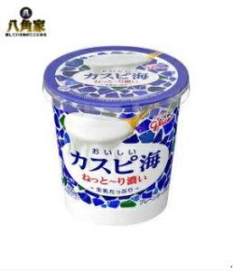 グリコ おいしいカスピ海 生乳たっぷり400g×6個