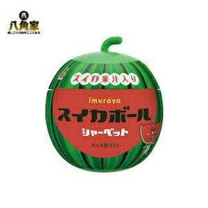 井村屋 スイカボール 170ml 18個入り 子供大人気 おしゃれな入れ物 おやつ 夏限定 スイカ果汁入り シャーベット