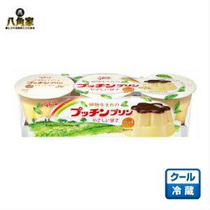グリコ 植物生まれのプッチンプリン 65g×3個 6パック入り【要冷蔵】【キャッシュレス5%還元】