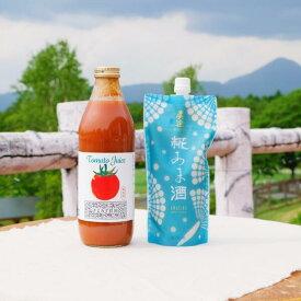 【送料無料】真澄 糀あま酒ときよみず農園 トマトジュースセット 寒中見舞い 寒中御見舞