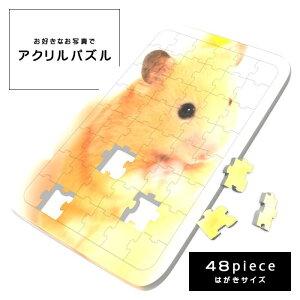 【送料無料】【オーダーメイド】アクリルパズル