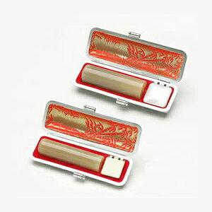 牛角(純白) 実印18.0mm 銀行印15.0mm セット(印鑑/男性用/印鑑セット/楽天/通販)