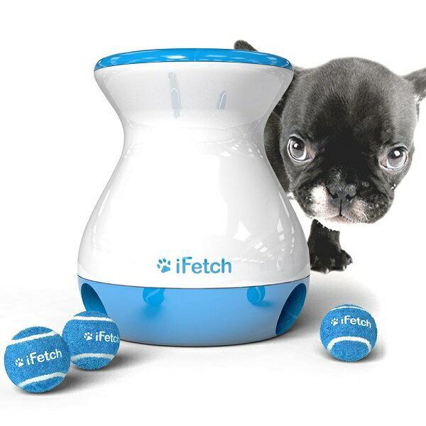 iFetch Frenzy小型犬〜中型犬用 わんちゃんキャッチボールおもちゃ しつけ用ボール3個付 【並行輸入】