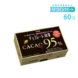 明治 チョコレート効果95% 60g×60箱 高カカオ チョコレート
