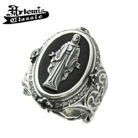 【Artemis Classic/アルテミスクラシック】黒衣聖母リング マリア 指輪 メンズリング 人気 フリーサイズ