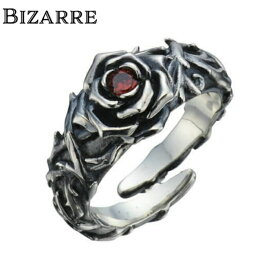 【BIZARRE/ビザール】シークレットローズシルバーリング 薔薇 ローズリング シルバー925 SILVER925