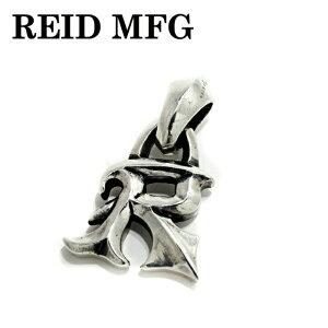 【REID MFG/リードエムエフジー】R charm w/Large Bale/ロゴペンダント イニシャルチャーム バチカンカスタムチャーム シルバー925 チャーム メンズ