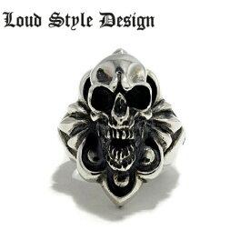 【Loud Style Design/ラウドスタイルデザイン】Lucy in the Shadow with Distracrion Ring スカルリング LSD メンズアクセサリー skull ring