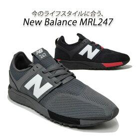 ニューバランス スニーカー メンズ ランニングシューズ New Balance MRL247 BC(ブラック)・CB(グレイ) ニューバランスセール