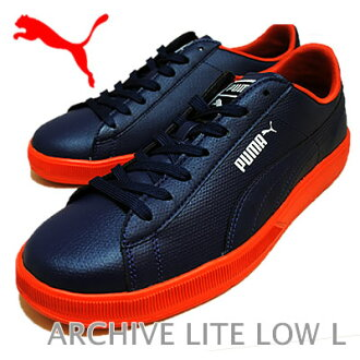 PUMA( Puma) ARCHIVE LITE LOW L blue / white / red clay [shoes, sneakers shoes]