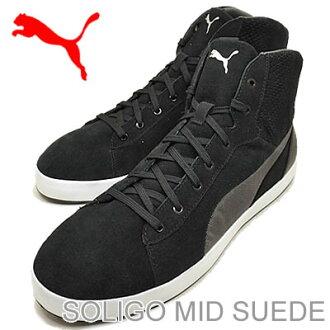 puma shoes suede black. puma (puma) soligo mid suede (ソリゴ mid suede) black [shoes \u0026amp; sneakers shoes] puma shoes suede s