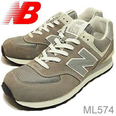 new balance ニューバランス ML574 GRAY グレー ヴィンテージ 靴 スニーカー シューズ 【あす楽対応】
