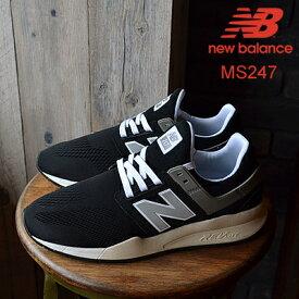 new balance ニューバランス MS247 MR BLACK ブラック 靴 スニーカー シューズ クラシック レトロランニング