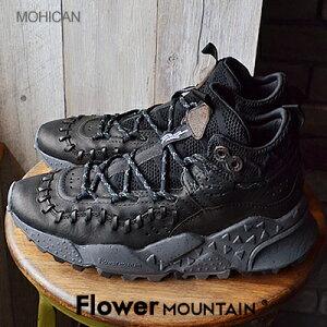 【返品交換送料無料】Flower MOUNTAIN フラワー マウンテン MOHICAN モヒカン BLACK ブラック 靴 ダッドスニーカー シューズ