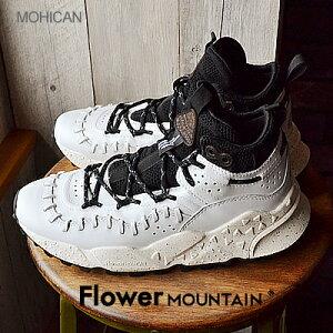 【返品交換送料無料】Flower MOUNTAIN フラワー マウンテン MOHICAN モヒカン WHITE ホワイト 靴 ダッドスニーカー シューズ