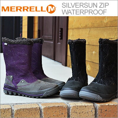【あす楽対応】MERRELL(メレル) SILVERSUN ZIP WATERPROOF(シルバーサン ジップ ウォータープルーフ) [靴・スニーカー・ウィンターブーツ・シューズ・防水・防寒]