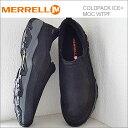MERRELL メレル COLDPACK ICE+ MOC WATERPROOF コールドパック アイス+モック ウォータープルーフ BLACK ブラック 靴 スニーカー コ…
