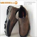 MERRELL メレル COLDPACK ICE+ MOC WATERPROOF コールドパック アイス+モック ウォータープルーフ BROWN ブラウン 靴 スニーカー コ…