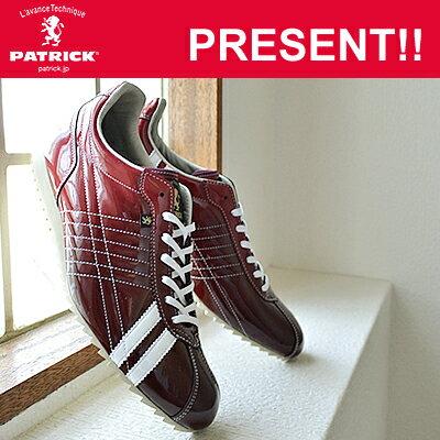 【返品無料対応】 PATRICK パトリック S.GRD-LET シュリーグラデーション・レザー RED レッド 靴 スニーカー シューズ 【あす楽対応】【smtb-TD】【saitama】【楽ギフ_包装】