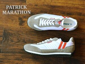 【返品交換送料無料】PATRICK パトリック MARATHON マラソン S.CRM ソフトクリーム 靴 スニーカー シューズ 【楽ギフ_包装】【あす楽対応】