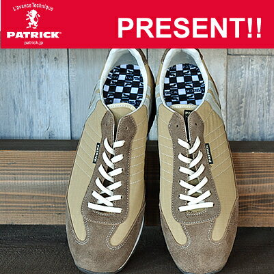 【返品無料対応】 PATRICK パトリック MILITARY-M ミリタリー・マラソン CML キャメル MARATHON 靴 スニーカー シューズ 【smtb-TD】【saitama】【楽ギフ_包装】