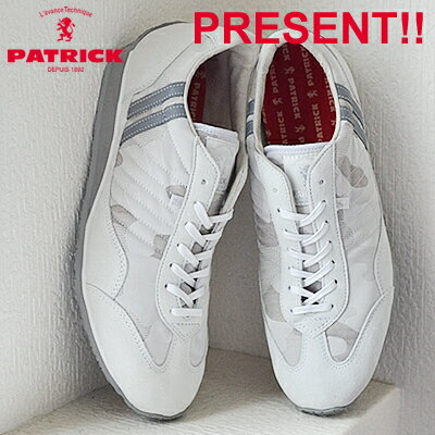 【返品無料対応】 PATRICK パトリック CAMOSTA カモスタ WHT ホワイト 靴 スニーカー シューズ 【あす楽対応】【smtb-TD】【saitama】