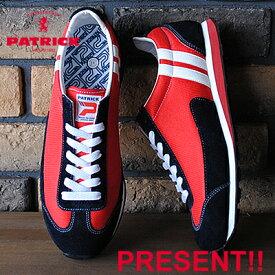 【あす楽対応】【返品無料対応】 PATRICK パトリック MIAMI'17 マイアミ'17 RED レッド 靴 スニーカー シューズ 【smtb-TD】【saitama】