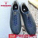 【あす楽対応】【返品無料対応】 PATRICK パトリック SULLY-MS シュリー・モストロ NVY ネイビー 靴 スニーカー シュ…
