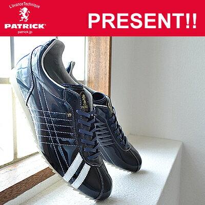 【返品無料対応】 PATRICK パトリック S.GRD-LET シュリーグラデーション・レザー NVY ネイビー 靴 スニーカー シューズ 【あす楽対応】【smtb-TD】【saitama】【楽ギフ_包装】