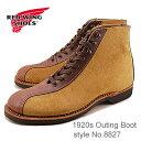 """【返品無料対応】RED WING レッドウィング 8827 1920s Outing Boot アウティングブーツ Hawthorne""""Muleskinner"""" & Tea…"""