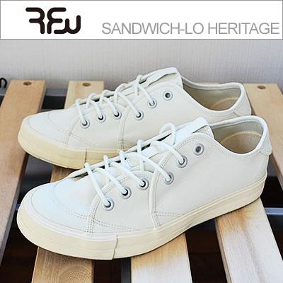 RFW アールエフダブリュー SANDWICH-LO HERITAGE サンドウィッチローヘリテージ NATURAL ナチュラル 靴 スニーカー シューズ
