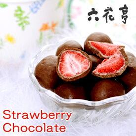 六花亭 ストロベリーチョコ ミルクチョコ 北海道 お土産 かわいい チョコレート お取り寄せ カンブリア宮殿 紹介 お歳暮