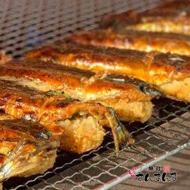 送料込 釧路名物魚政 さんまんま 【150g×2本入】×2箱 お土産 サンマ 特性の醤油ダレに漬け込んだ脂ののった秋刀魚と大葉で包んだもっちりとしたご飯をサンド!さらにもう一度焼いて香ばしさをだしています