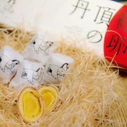 丹頂鶴の卵(鶴の卵)10個入北海道土産チョコ饅頭