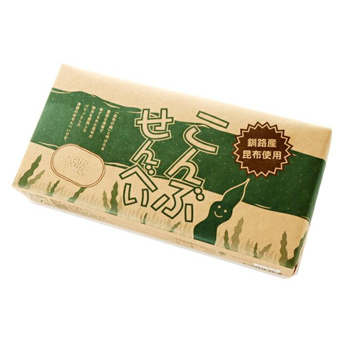 加納食品 こんぶせんべい 釧路産 昆布使用北海道お土産