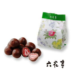 六花亭 ストロベリーチョコミルク 袋タイプ(80g)北海道お土産 お返し 友人 お取り寄せ 贈り物 ドライフルーツ チョコレート お菓子 おみやげ 手土産 ギフト