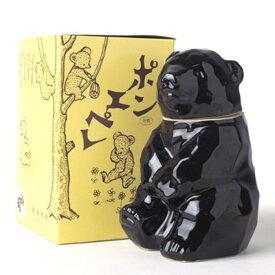 可愛らしい熊の陶器に、キレのあるのど越しと味わいの淡麗辛口