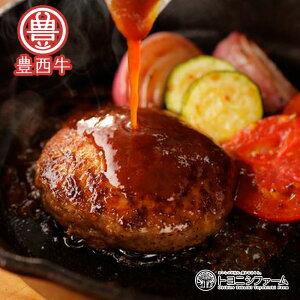 北海道十勝産 豊西牛100% ビーフハンバーグ 120g×10個 送料無料 赤身詰め合わせ ふるさとの味 ギフト レトルト 冷凍 内祝い お取り寄せ お歳暮 肉